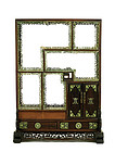 Early 20C Chinese Hardwood Display Cabinet