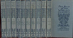 10 book set, THE BEST OF THE WORLD'S CLASSICS.