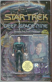 "Star Trek, Deep Space Nine, LT Jadzia Dax 5"" Figure 1st Series"