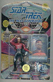 Star Trek NG LaForge in RED Uniform
