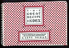 The Great Recipe Index Book