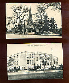4 Burlington, NJ  Mayrose Postcards, undated