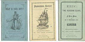 3 early Religious pamphlets from Philadelphia PA