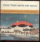 """NY World's Fair """"The Triumph of Man"""" Record & Folder"""