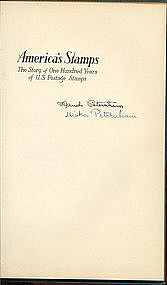 AMERICA'S STAMPS, HC Signed 1947