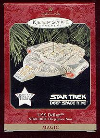 Hallmark Keepsake Ornament  USS DEFIANT