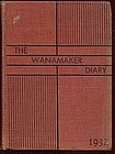The Wanamaker Diary 1932,