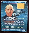 Star Trek Next Generation Inaugural Ed Collector Cards
