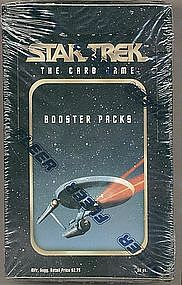 Fleer Sealed box ST The Card Game Booster Packs