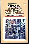 Price Guide to American Country Antiques by Raycraft