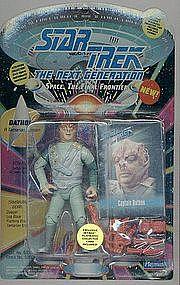 """Star Trek TNG Dathon 5"""" Action Figure w/Card"""