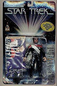 "Star Trek DSN Cdr Worf 5"" action figure LOW #"