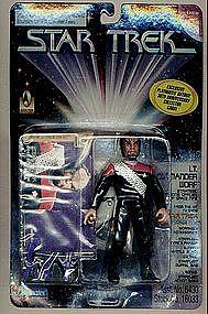 """Star Trek DSN Cdr Worf 5"""" action figure LOW #"""