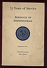 75 Years of Service; Borough of Haddonfield