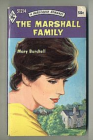 THE MARSHALL FAMILY by Mary Burchell
