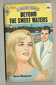 BEYOND THE SWEET WATERS by Anne Hampson