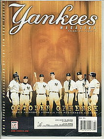 Yankees Magazine Vol 21, Issue 7. October Offense