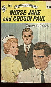 Nurse Jane and Cousin Paul by Valerie K. Nelson