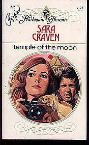 TEMPLE OF THE MOON by Sara Craven  #215