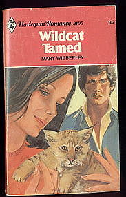 WILDCAT TAMED by Mary Wibberley  #2105