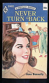 NEVER TURN BACK by Jane Donnelly #51483