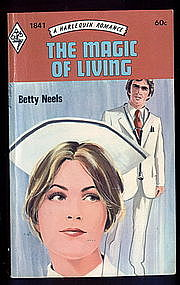 THE MAGIC OF LIVING by Betty Neels  #1841