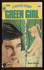 GREEN GIRL by Sara Seale #1045