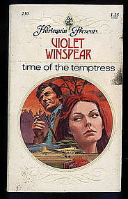 TIME OF THE TEMPTRESS by Violet Winspear #230