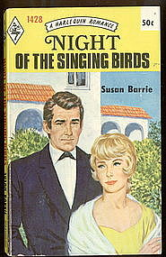 NIGHT OF THE SINGING BIRDS by Susan Barrie #1428