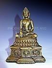 A Rare Early Tibetan Bronze Buddha 13-14th Century