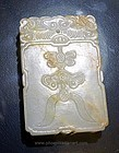 Chinese Jade Plaque made from an Archaistic Jade  - 18-19th Century