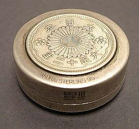 Japanese Silver Box, Circa 1923