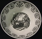 Vingage Wedgwood Federal Bowl, Designed by Alan Price