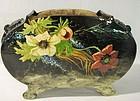 Edouard Gilles Barbotine Planter Style Vase