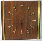 Mid-Century Modern Harris Strong Wall Clock