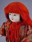 Japanese Gosho Ningyo,  Shojo Noh Doll