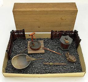 Japanese Miniature Garden Set