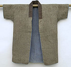 Antique Japanese Cotton Jacket, Sashiko Stitches
