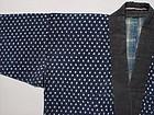 Antique Japanese Kasuri Jacket, Sashiko Stitches #2