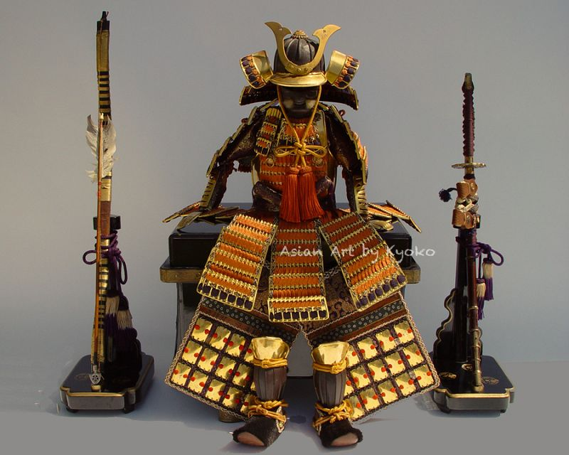 Samurai Armor for Japanese Boys Day