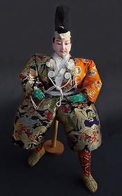 Japanese Samurai Doll, Large Musha Ningyo 22 inches