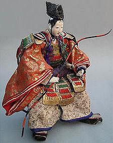 Old Japanese Empress Jingo Doll Set, large