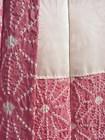 Japanese Short Kimono Jacket, Pink Silk Tie-Dye Haori