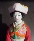 Old Japanese Hakata Doll, A Wedding Couple