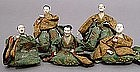 Interesting Keshi Bina, Kawari-bina Hina Ningyo Dolls