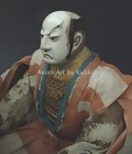 Rare Antique Samurai Warrior Doll, Edo Japanese Ningyo