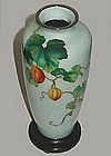 Superb Japanese Cloisonne Vase by ANDO