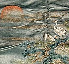 "Old Japanese Fukusa Tapestry, 39 3/4""x32 1/2"""