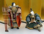 Japanese Antique Samurai warrior Dolls, Empress Jingo