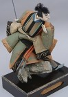 Antique Japanese Doll, Takeda Ningyo, Jyoruri Samurai